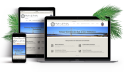 SJS Notary Public Website Design