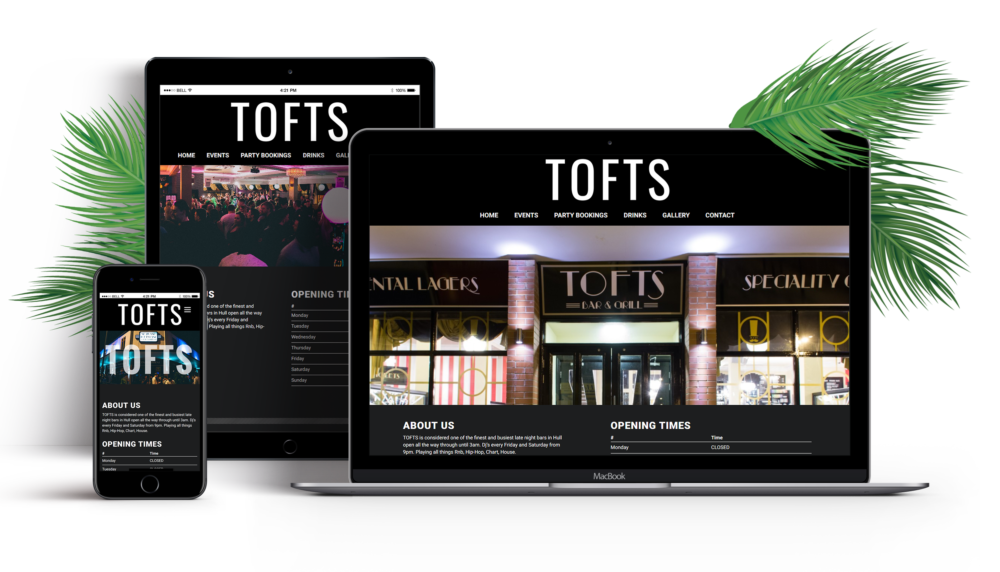 Tofts Website Design & Development